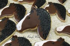 Horse Head #2 by Teri Pringle Wood   Cookie Connection
