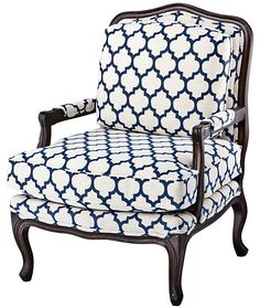 One Kings Lane - Sit Pretty - Admiral Bergère-For my home office reading