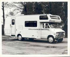 1972 The Good Life Dodge motorhome RV Factory Photo
