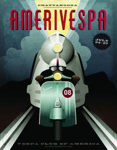 35 Fancy Vintage Posters of Vespa http://webexpedition18.com/articles/vintage-vespa-posters/