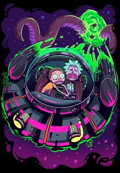 Wallpaper Rick and Morty iPhone is high definition phone wallpaper. You can make this wallpaper for your iPhone X backgrounds, Tablet, Android or iPad Rick Und Morty Tattoo, Rick And Morty Poster, Wow Art, 3d Prints, Cartoon Art, Illustration, Iphone Wallpaper, Mobile Wallpaper, Anime