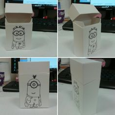 Cigarete box - mimons