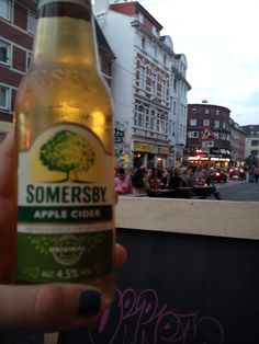 At Wohnzimmer Bar In Bremen You Can Find This Great Refreshing Cider Placed The