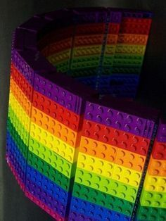 Rainbow Legos