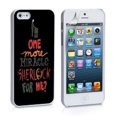 smiley sherlock iPhone 4, 4S, 5, 5C, 5S Samsung Galaxy S2, S3, S4 Case – iCasesStore
