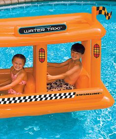 Water Taxi Float by Swimline #pool #toys
