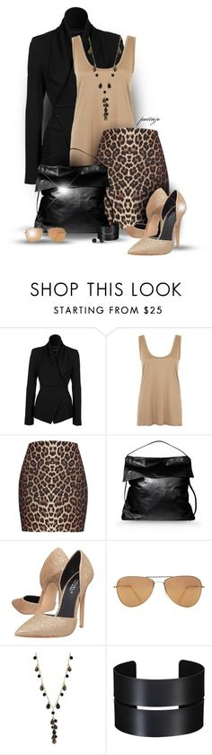 """""""Shadows of the Wild"""" by rockreborn ❤ liked on Polyvore featuring Plein Sud, The Row, River Island, Rick Owens, Carvela, Isabel Marant, Whistles and Kate Spade"""