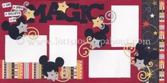 Do You Believe In Magic Scrapbook Page Kit [doyoubelieveinmagic11] - $6.99 :: Lotts To Scrap About - Your Online Source for Scrapbook Page Kits!