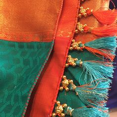 No photo description available. Saree Kuchu New Designs, Saree Jacket Designs, Cutwork Blouse Designs, Saree Tassels Designs, Best Blouse Designs, Wedding Saree Blouse Designs, Hand Work Blouse Design, Stylish Blouse Design, Stylish Dress Designs