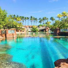 Just another day in paradise.  (Photo: @christinesahagun) #AtlantisResort