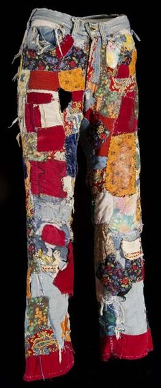 Patched blue jeans by Minnesota Historical Society, via Flickr