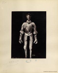 Armure du roi Philipe II.. Laurent, J. 1816-1886 — Fotografía — 1868?