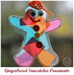 Gingerbread Suncatcher Ornament