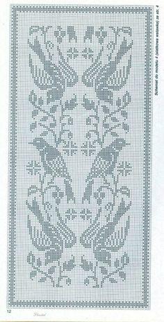 Kira scheme crochet: birds