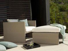 TERRA SOFA Garden armchair by TRIBÙ