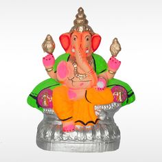 Make this #GaneshChaturthi  special with this unique Eco-friendly Gajanan Yedamuri #GaneshIdol .  Get 20% discount for orders on or before 1st September. Hurry Up!