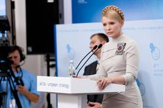 Yulia Tymoshenko, Ph.D., economist, businesswoman, and former Prime Minister of Ukraine. Her many reforms of the government, including higher pay and pensions for workers and stamping out corruption made her many many powerful enemies. Repeatedly brought up in court on false charges, currently in prison and on a hunger strike.