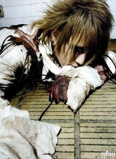 Ruki. The Gazette. Visual Kei Style. Taion MV Wardrobe