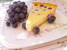 Grape Cheesecake Recipe | Turkish Style Cooking