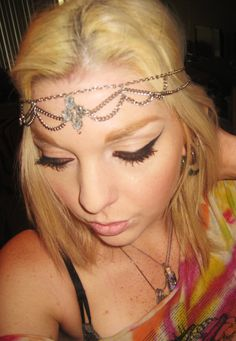 Beautiful Ethereal Chain Headband