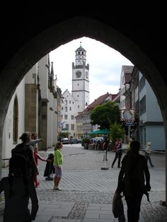Ravensburg, Germany...I lived here for a year as a little girl (Rebecca)