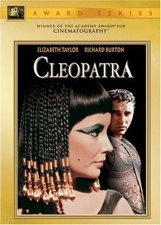 Cleopatra -- This epic classic, now with restored picture and sound, stars Elizabeth Taylor as the Egyptian queen whose romance with a Roman (Richard Burton) may decide the fate of an empire.♥♥♥