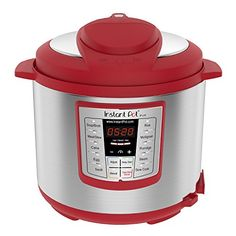 Instant Pot Lux 6 Qt Red MutiUse Programmable Pressure Cooker Slow Cooker Rice Cooker Sauté Steamer and Warmer *** Continue to the product at the image link. (This is an affiliate link) Electric Pressure Cooker, Instant Pot Pressure Cooker, Pressure Cooking, Cooking Ribs, Rice Cooker, Slow Cooker, Healthy Taco Soup, Pots, Yogurt Maker