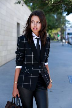 BORROWED FROM THE BOYS - Plaid Blazer via @nordstromrack #nordstromrack #ad