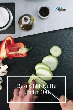 For everyday kitchen tasks,a chef knife is one vital tool.But high-quality knives have quite an expensive price tag.Right here, we covered 10 best chef knife under 100 you can find. Kitchen Knives, Kitchen Gadgets, Best Chefs Knife, Best Budget, Chef Knife, Kitchen Accessories, Food Art, The 100, Canning