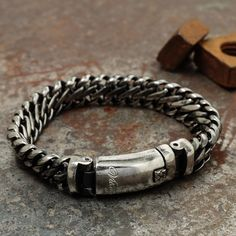 Our brand new Maile bracelet is now available in antiqued steel! We think this is probably the most badass bracelet we've ever released - what do you think? $70 // vitalydesign.com #vitaly #fashion #bracelet