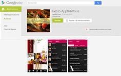 Démo de notre application mobile pour restaurant - Applik&Vous