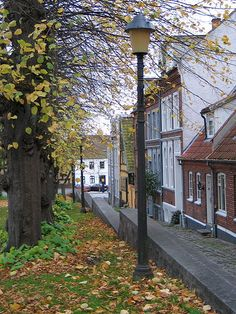 Street in the old part of Horsens, Denmark... I rode my bike from Juelsminde to Horsens once. :-)