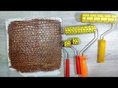 Как сделать декоративный валик для шпаклевки. Декор своими руками - YouTube