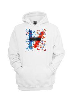 twenty one pilots fan art hoodie Size S M L XL XXL by Zeglentog