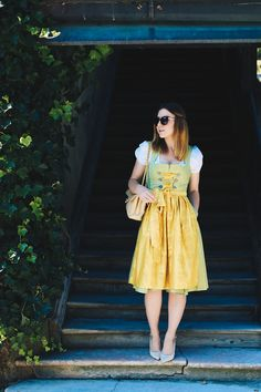 Style Archive (Who is Mocca? Dirndl Outfit, Fashion Magazin, German Fashion, Outfit Posts, Her Style, Outfit Of The Day, Style Inspiration, Summer Dresses, Womens Fashion