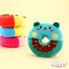 Bear Donut Plush Charm | Blippo Kawaii Shop