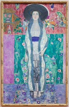 Gustav Klimt - Adele Bloch-Bauer II (1902) Museum of Modern Art in New York Art…