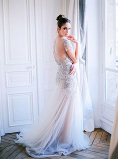 The 35 Most Beautiful Bedazzled Wedding Dresses - Style Me Pretty