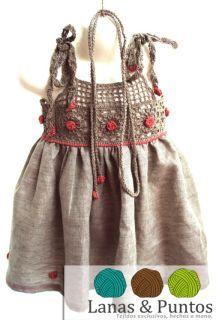 TRICO y CROCHET-madona-mía: Blusas y vestidos de verano para mujeres con aplicaciones en Crochet: