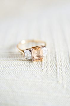 Peach sapphire: http://www.stylemepretty.com/collection/1953