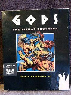 Jeux Atari ST -> Gods