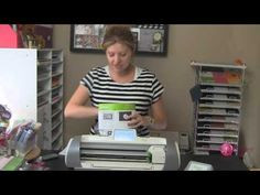 How to Get started with your Provo Craft Cricut Expression 2 - Use Fit to Page, Install Blade and Much more - Video series at http://www.AboveRubiesStudio.com