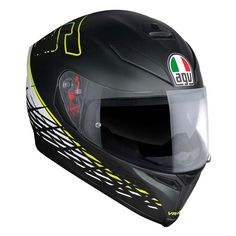 The best prices for motorcycle gear and accessories. More than products with the best service. Ventilation System, Matte Black, Black And White, Yellow, Motorcycle Helmet, Design, Free, Products, Black White
