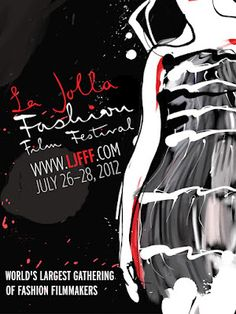 La Jolla Fashion Film Festival 2012  official poster