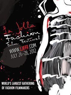 La Jolla Fashion Film Festival 2012  official poster