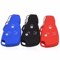3/4 Buttons Car Key Cover Case For Benz For Mercedes C E R CL CLK Case Remote Smart Key Cover Holder Refit Cover Shell P10