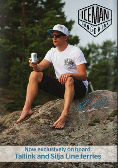 Want. Congrats to Kimi for becoming ambassador to Iceman drink!