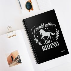 Horse Notebook, Personalized Journal Notebook for Girls and Boys, Spiral Bound Journal, Lined Notebook for Writing Special Birthday Gifts, Birthday Gifts For Her, Lined Notebook, Journal Notebook, Birthday Reminder, Cute Notebooks, Planning And Organizing, School Notes, Gsm Paper