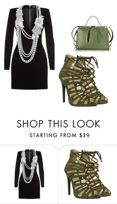 """robe bijoux sexy"" by asma150302 on Polyvore featuring mode, Balmain et Jil Sander"