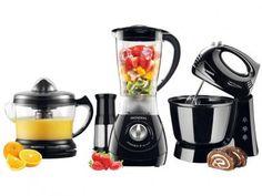 Kit Gourmet Mondial com Liquidificador + Batedeira - Espremedor com as melhores condições você encontra no Magazine 233435antonio. Confira!